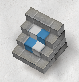 Blue Checker Stairs Angle Gallery.png